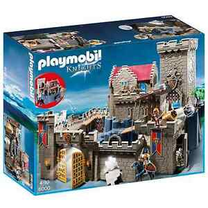 Playmobil 6000 Knight Castle Parts - Stonewall,Figurines,Horses+ Size Selection