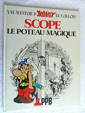 ALBUM BD PUBLICITAIRE  ASTERIX   SCOPE LE POTEAU MAGIQUE
