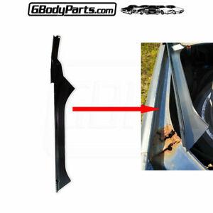 78*-88 Cutlass Regal Trunk Deck Lid Quarter Panel Weatherstrip Gutter Channel LH