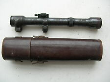 German sniper scope 4x Hensoldt Wetzlar Ziel-dialyt Scharfschützen Zielfernrohr