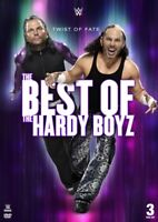 THE BEST OF-TWIST OF FATE (HALSKETTE) - HARDY BOYZ,THE  3 DVD NEU
