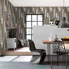 Decoración de paredes de dormitorio de madera para el hogar de color principal azul