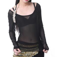 C994 belly dance danza vientre disfraz opaca top tribal Fusion