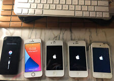 Lot of (5) Apple Devices iPhone/iPod(4th gen) (all power on) for use/repair/part
