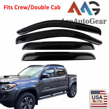 Window Visor Out-Channel Sun Guard 2.0MM 2pc For 1995-2004 Toyota Tacoma Std Cab