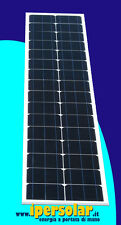 Pannello solare rimovibile 100W SPECIALE BARCA - Spessore 1 cm