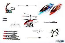 Alle Ersatzteile Rc Hubschrauber Helikopter Sky King 8500