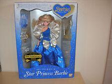 1989 STAR PRINCESS BARBIE BAN DAI JAPAN MADE UNDER LICENSE FROM MATTEL INC.