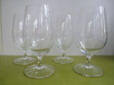 Set of 4 Riedel Vivant 17 oz Crystal Water Goblets Nib