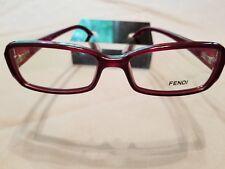 8f70a9bba3bc Fendi Burgundy Eyeglass Frames for sale