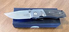 BOKER New Bull Pup Green Micarta VG-10 Single Blade Folding Knife/Knives