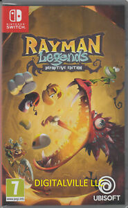 Rayman Legends Definitive Edition Nintendo Switch Brand New Factory Sealed