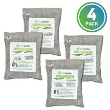 PureGuardian® 4 Pack 200g Air Purifying Bamboo Charcoal bags, Eco-Friendly
