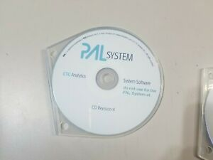 CTC Analytics Leap PAL System Software  CD Revision 4 NEW