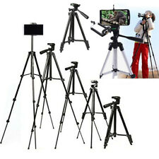 Professional Camera Tripod Stand Holder Mount for iPhone Samsung Cell Phone Blac