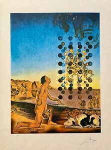 SALVADOR DALI NUDE Hand Signed Limited Edition Lithograph Art Edition #1/100