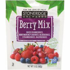 Berry Mix, séchés entiers mixtes baies, 5 oz (environ 141.75 g) (142 g) - Stoner...