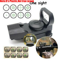 Plastic Green Dot Tactical Hunting Rifle Toy Holographic Green Laser Sight Scope