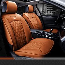 NEW Full Set 5 Seat  PU Leather Car Seat Cover Set Seat Cushion Pad Protective
