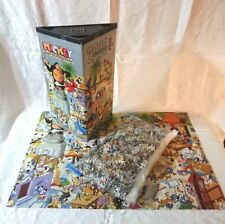 *RARE* HEYE Disney 'Mickey Goes to Hollywood' 2000 Jigsaw Puzzle Poster - 1989