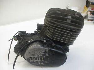 1. Yamaha DT 250 MX 1R7 Motor mit Kupplung und Lichtmaschine 1R7-140479 engine