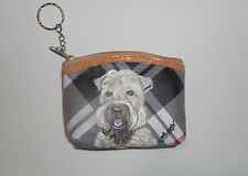 Soft Coated Wheaten Terrier Dog Coin Purse With Key chain Wallet for Women