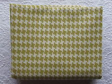 RARE & OOP Urban Chiks Summer in the City AVOCADO & WHITE HOUNDSTOOTH 2007 & New