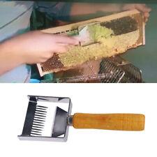 Multifunction Bee Hive Uncapping Honey Fork Scraper Shovel Beekeeping Tool DSM
