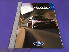 Ford Mondeo Brochure 1998 - Oct 1998 UK Issue inc ST24