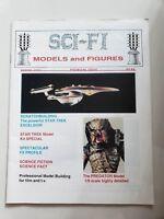SCI-FI MODELS and FIGURES Magazine Winter 1992 PREMIERE ISSUE PREDATOR/STAR TREK