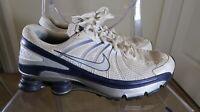 ⚡️2008 Men's Nike Shox Turbo VII 324907-103 Running Jogging Shoes 13 White/Black