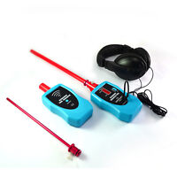 Ultrasonic Stethoscope Gas Liquid Leak Detector Noise Diagnostic Tool LCD Tester