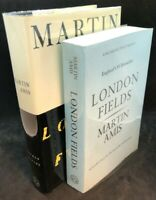 2 SIGNED Martin Amis London Fields ~ True First 1st/1st US Edition + Uncorrected