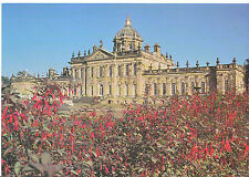 Yorkshire Postcard - Castle Howard - South Front from The Fuschia Border   LE152