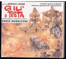 ENNIO MORRICONE GIU' LA TESTA ED SPEC. 35° ANN. - 2 CD DIGIPACK F.C. SIGILLATO!!