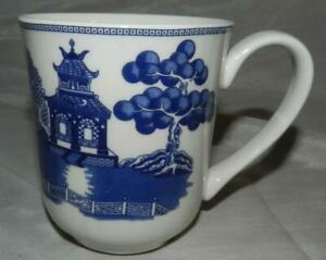 Johnson Brothers Blue Willow China 8 oz Coffee Cup Mug Made in England