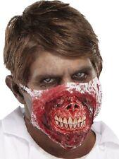 Unisex Deluxe Zombie Doctor Máscara Scary Halloween de disfraces, Muertos Vivientes Muertos