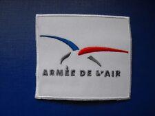 Logo insigne militaire armée écusson brodé patch tissu Armée de l'Air Française