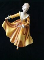 VTG ROYAL DOULTON FIGURINE KIRSTY HN 2381 England 1970 Mother's Day Gift EUC