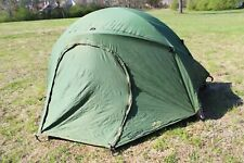 USMC Eureka Two Man Person Combat Tactical Tent With Stakes Rainfly Poles & Bag