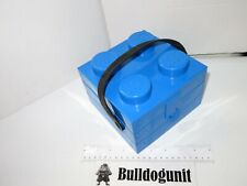 Blue Lego Lunchbox Block with Handle Lunch Box Food Brick