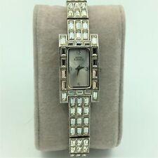 Vintage Anne Klein II Quartz Ladies Rhinestone Glamour Dress Wrist Watch