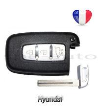 plip coque clé Hyundai Tucson I10 I20 I30 I40 IX 30 IX35 3 boutons + lame vierge