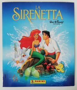"""Album """"La Sirenetta"""" Walt Disney Panini Completo in perfetto stato! Con omaggio!"""