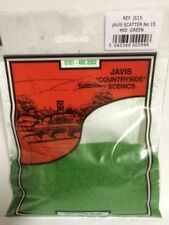 Mid Green Scenic Scatter Javis JS15 Countryside No.15 Model Railway 3 Bags