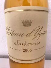 Château d 'Yquem 2005, 0,375 L burdeos, sauternes Premiere Cru supérueur