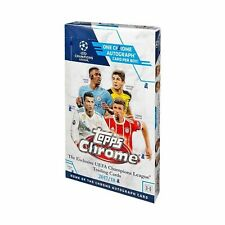 2017-18 Topps Chrome Champions League Soccer Sealed HOBBY Box MBAPPE RC? UEFA
