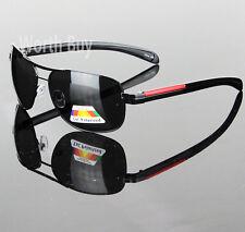 Nuevo Lente Polarizada Piloto Aviador Gafas de Sol Hombre Deportes Al Aire Libre