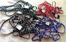 Lot 25 Colliers + Laisses pour chats ou petits chiens - 4 couleurs différentes