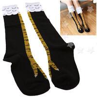Unisex High Socks 3D Chicken Cartoon Animal Legs Knee Fitness Novelty Party Gift